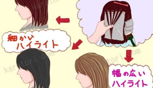 ウィービングの白髪染めとは?メッシュやグラデーションに染める白髪が目立たない効果や染め方