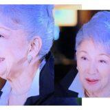 草笛光子さんの白髪を染めないグレーヘアから黒髪に変化した原因とは?