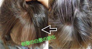 LPLPで染めた前髪の効果