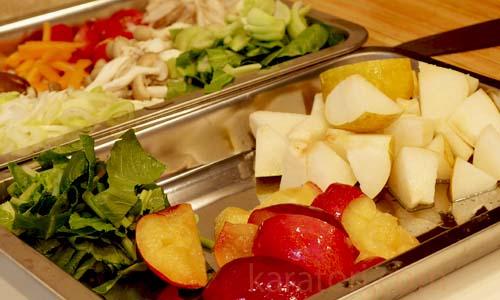 旬な野菜や果物