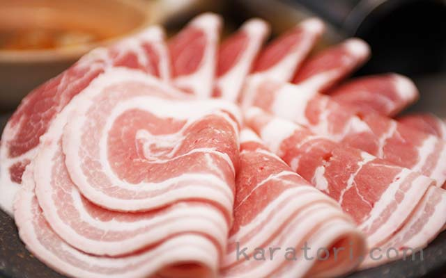 産直豚バラ肉