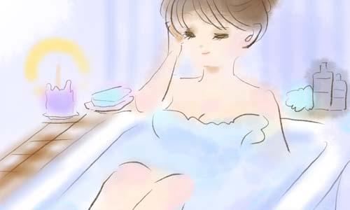 寝る前に入浴